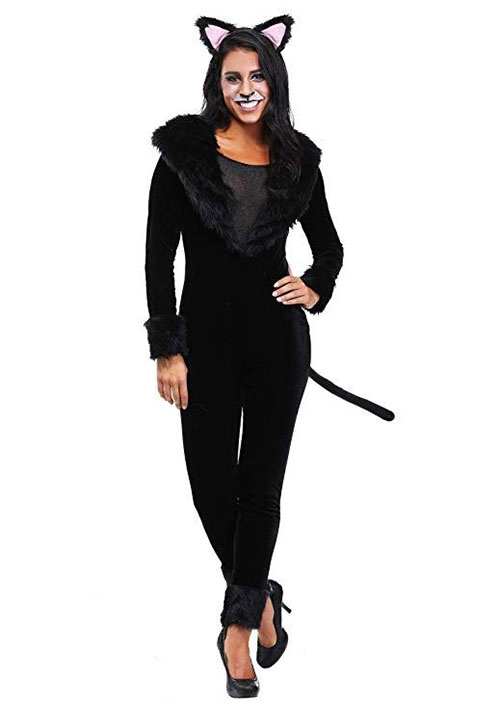 12-Halloween-Black-Cat-Costume-Ideas-For-Kids-Men-Women-2019-6