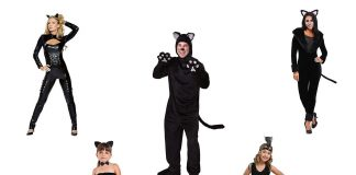 12-Halloween-Black-Cat-Costume-Ideas-For-Kids-Men-Women-2019-F