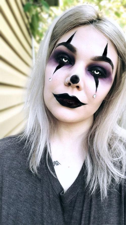 15-Spooky-Clown-Halloween-Makeup-Looks-Styles-Ideas-2019-12