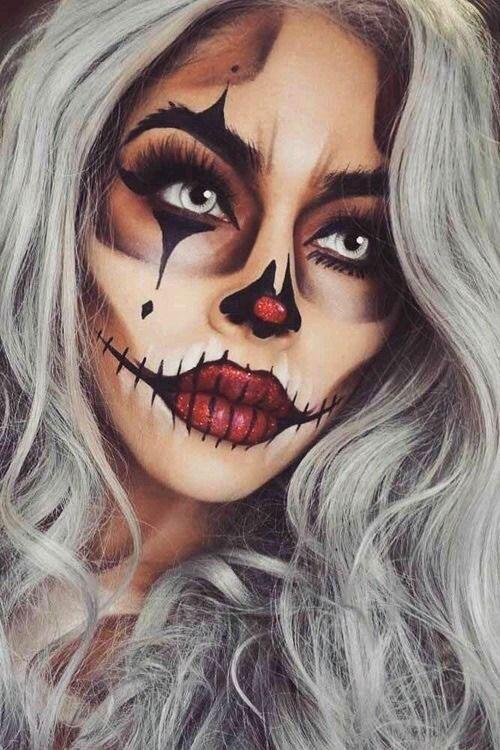 15-Spooky-Clown-Halloween-Makeup-Looks-Styles-Ideas-2019-13