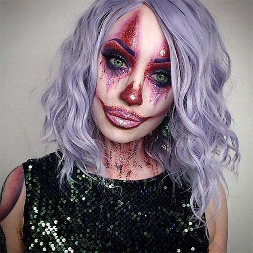 15-Spooky-Clown-Halloween-Makeup-Looks-Styles-Ideas-2019-7