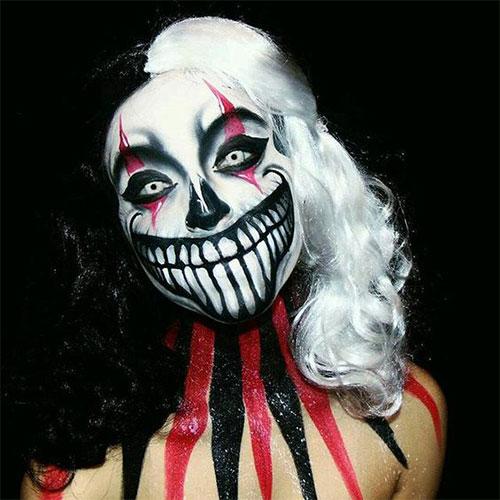 15-Spooky-Clown-Halloween-Makeup-Looks-Styles-Ideas-2019-8