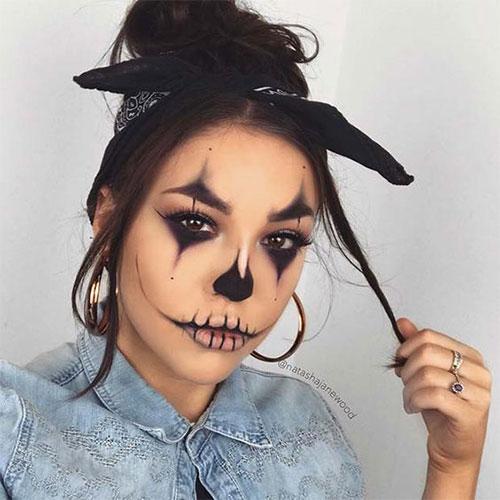 15-Spooky-Clown-Halloween-Makeup-Looks-Styles-Ideas-2019-9