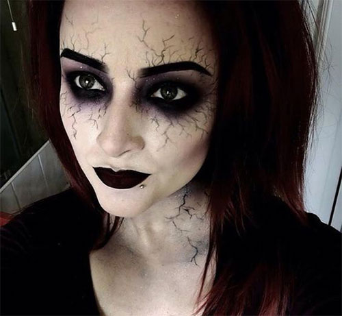 Halloween Ideas 2019 Makeup.15 Witch Halloween Makeup Looks Styles Ideas Trends