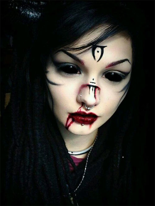 15-Witch-Halloween-Makeup-Looks-Styles-Ideas-Trends-2019-3
