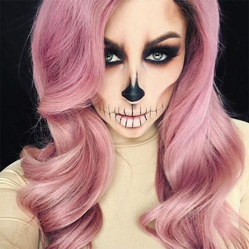 20-Creepy-Skull-Skeleton-Halloween-Makeup-Ideas-Trends-Looks-2019-1