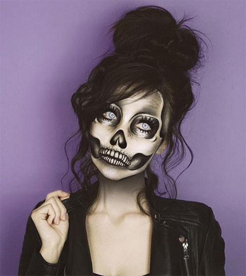 20-Creepy-Skull-Skeleton-Halloween-Makeup-Ideas-Trends-Looks-2019-12