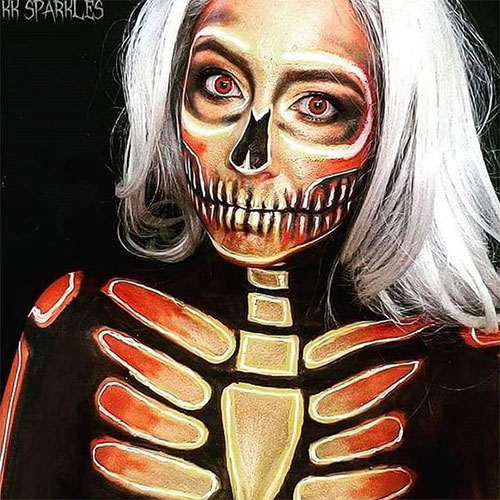 20-Creepy-Skull-Skeleton-Halloween-Makeup-Ideas-Trends-Looks-2019-16