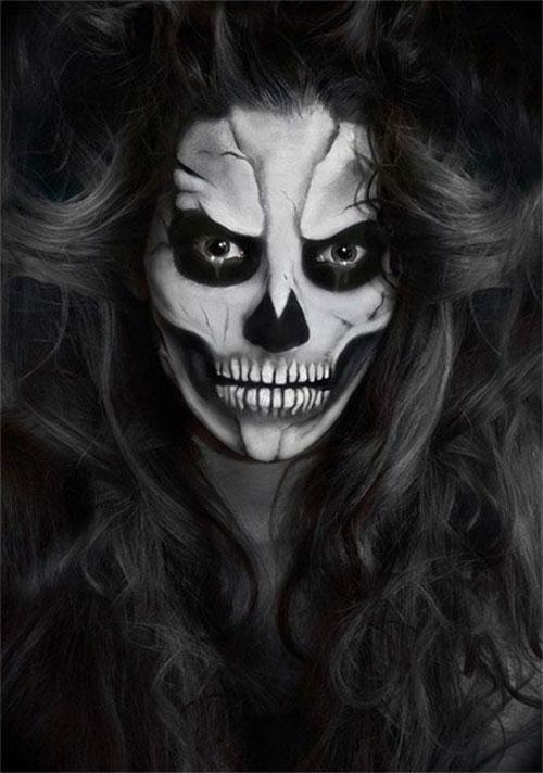 20-Creepy-Skull-Skeleton-Halloween-Makeup-Ideas-Trends-Looks-2019-2