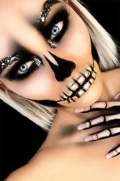 20-Creepy-Skull-Skeleton-Halloween-Makeup-Ideas-Trends-Looks-2019-20