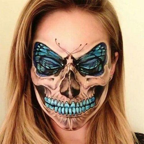 20-Creepy-Skull-Skeleton-Halloween-Makeup-Ideas-Trends-Looks-2019-7