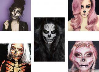 20-Creepy-Skull-Skeleton-Halloween-Makeup-Ideas-Trends-Looks-2019-F