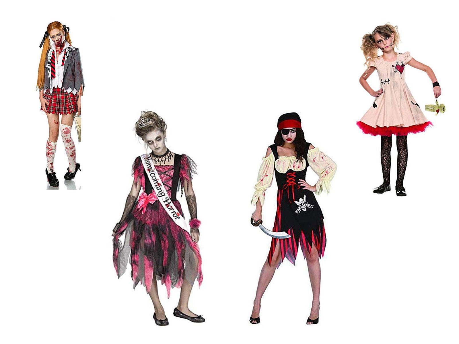 20 Scary & Creepy Halloween The Walking Dead Costume Ideas