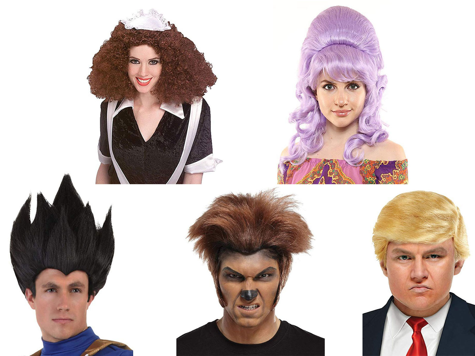 25-Halloween-Costume-Wigs-For-Kids-Men-Women-2019-Accessories-F