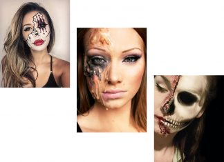 25-Halloween-Half-Face-Makeup-Looks-Styles-Trends-Ideas-2019-F