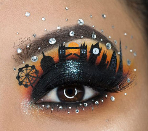 50-Best-Scary-Unique-Halloween-Eye-Makeup-Looks-Ideas-Trends-2019-12