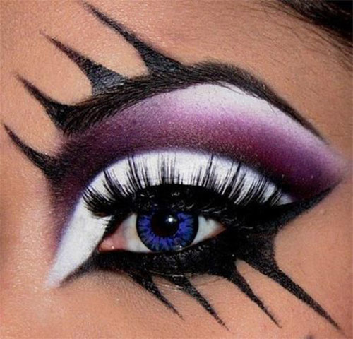 50-Best-Scary-Unique-Halloween-Eye-Makeup-Looks-Ideas-Trends-2019-18