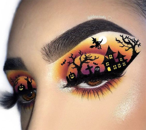 50-Best-Scary-Unique-Halloween-Eye-Makeup-Looks-Ideas-Trends-2019-2