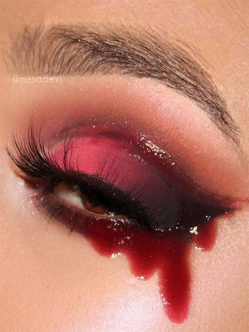 50-Best-Scary-Unique-Halloween-Eye-Makeup-Looks-Ideas-Trends-2019-24