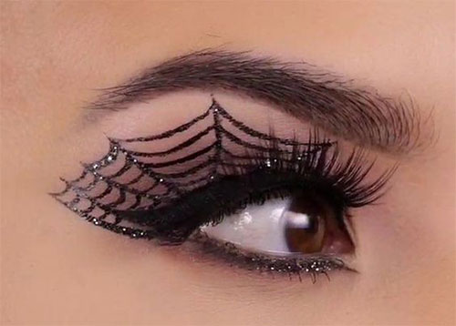 50-Best-Scary-Unique-Halloween-Eye-Makeup-Looks-Ideas-Trends-2019-27