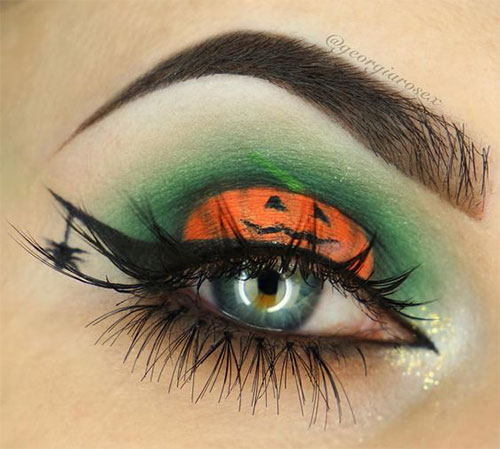 50-Best-Scary-Unique-Halloween-Eye-Makeup-Looks-Ideas-Trends-2019-29