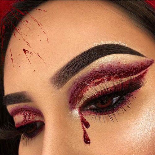 50-Best-Scary-Unique-Halloween-Eye-Makeup-Looks-Ideas-Trends-2019-3