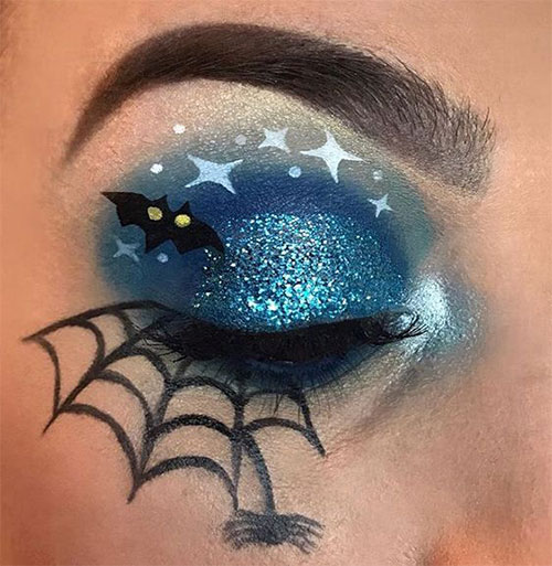 50-Best-Scary-Unique-Halloween-Eye-Makeup-Looks-Ideas-Trends-2019-37