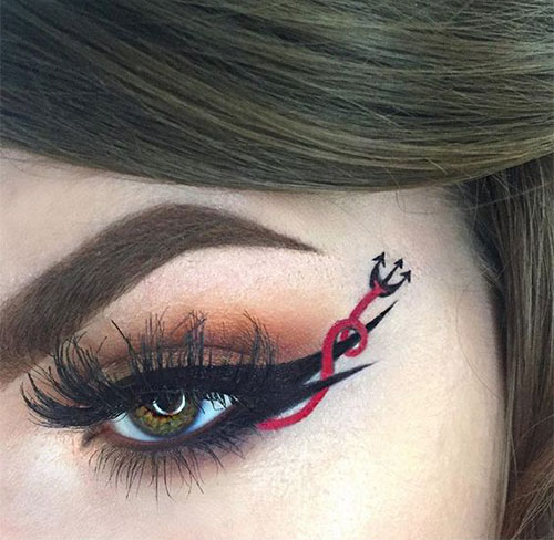 50-Best-Scary-Unique-Halloween-Eye-Makeup-Looks-Ideas-Trends-2019-4