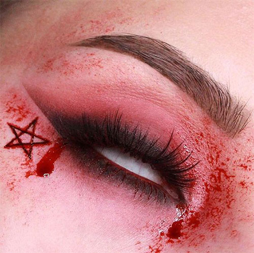 50-Best-Scary-Unique-Halloween-Eye-Makeup-Looks-Ideas-Trends-2019-42