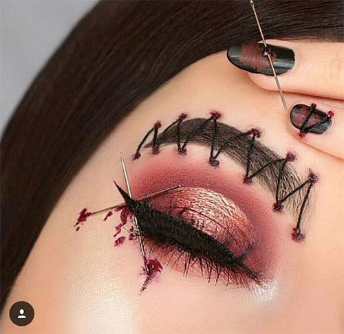 50-Best-Scary-Unique-Halloween-Eye-Makeup-Looks-Ideas-Trends-2019-43