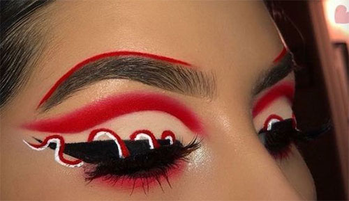 50-Best-Scary-Unique-Halloween-Eye-Makeup-Looks-Ideas-Trends-2019-46