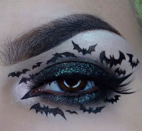 50-Best-Scary-Unique-Halloween-Eye-Makeup-Looks-Ideas-Trends-2019-5