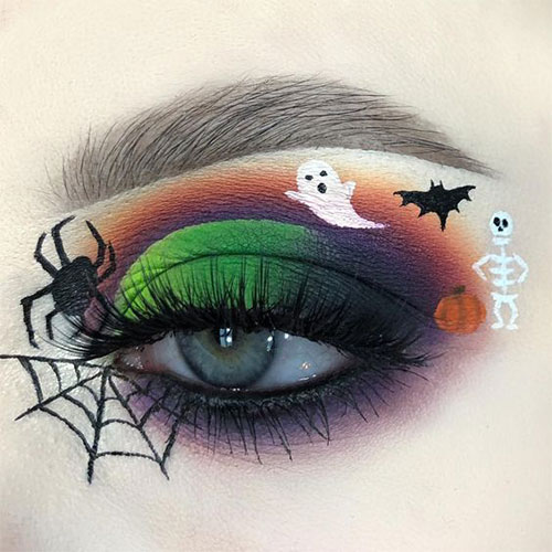 50-Best-Scary-Unique-Halloween-Eye-Makeup-Looks-Ideas-Trends-2019-8