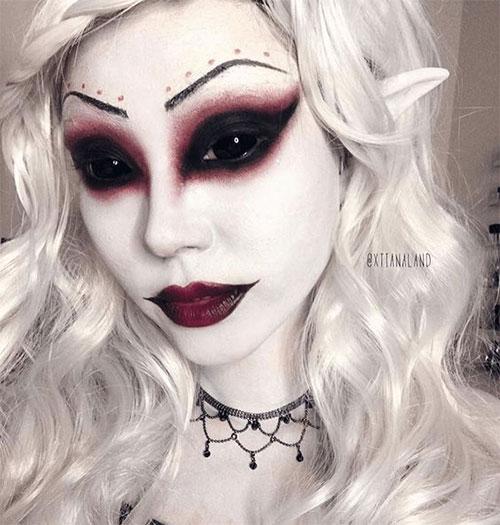 12-Horror-Gothic-Halloween-Makeup-Looks-Ideas-Trends-2019-4