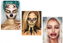 15-Best-Horror-Halloween-Gold-Makeup-Looks-Styles-Ideas-2019-F