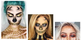 15-Best-Horror-Halloween-Gold-Makeup-Looks-Styles-Ideas-2019-F