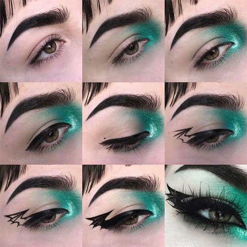15-Easy-Halloween-Eye-Makeup-Tutorials-Tips-Trends-For-Learners-2019-8