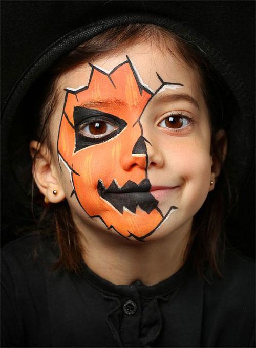 15-Scary-Pumpkin-Jack-o-Lantern-Halloween-Face-Makeup-Ideas-Looks-2019-1