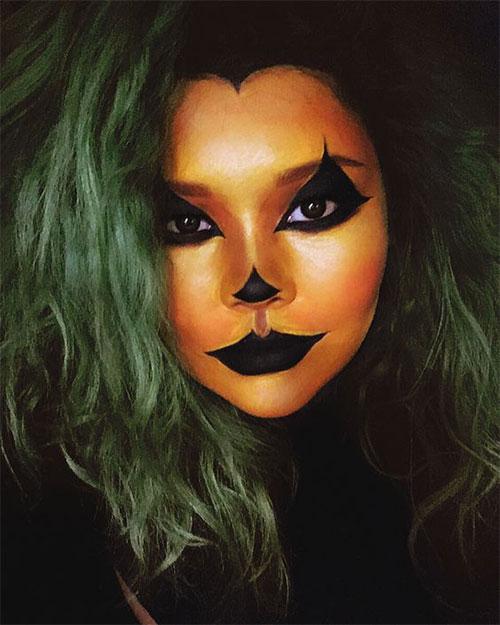 15-Scary-Pumpkin-Jack-o-Lantern-Halloween-Face-Makeup-Ideas-Looks-2019-3