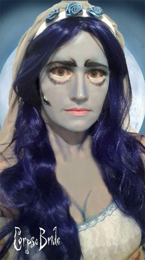15-Spooky-Corpse-Bride-Makeup-Looks-Ideas-Styles-Trends-2019-7