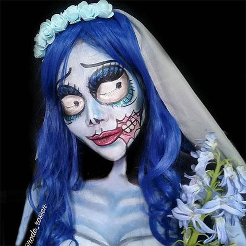 15-Spooky-Corpse-Bride-Makeup-Looks-Ideas-Styles-Trends-2019-9