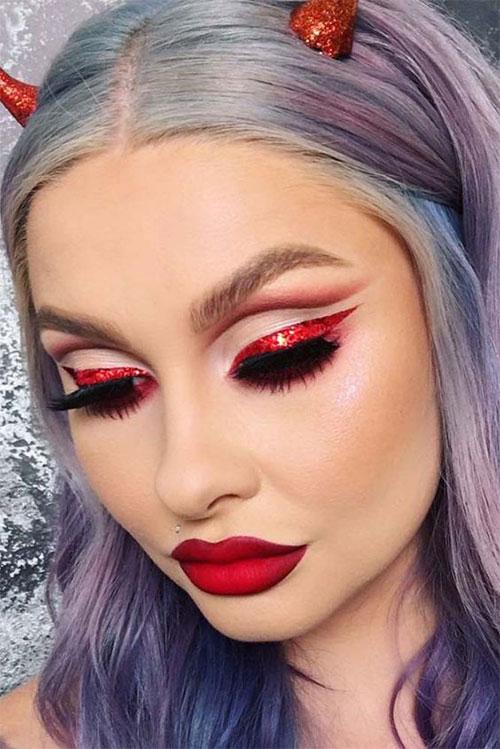 18-Horrifying-Devil-Halloween-Face-Makeup-Ideas-Styles-Trends-2019-11