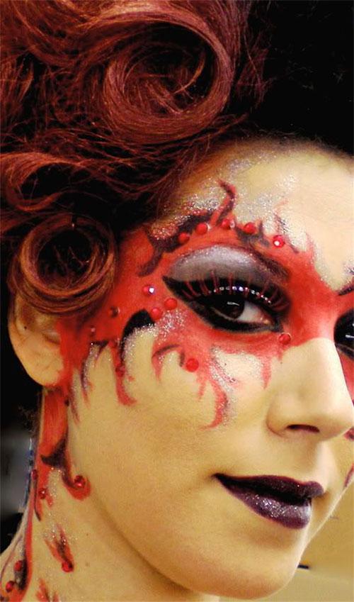 18-Horrifying-Devil-Halloween-Face-Makeup-Ideas-Styles-Trends-2019-17