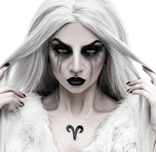18-Horrifying-Devil-Halloween-Face-Makeup-Ideas-Styles-Trends-2019-3