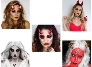 18-Horrifying-Devil-Halloween-Face-Makeup-Ideas-Styles-Trends-2019-F