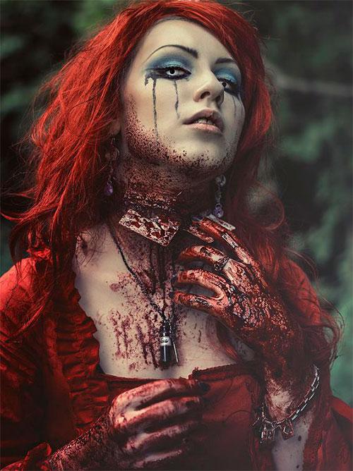 20-Very-Scary-Halloween-Neck-Makeup-Looks-Styles-Ideas-2019-10