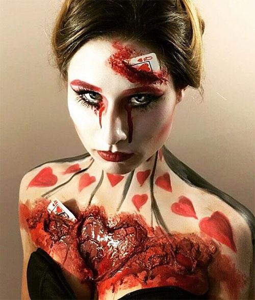 20-Very-Scary-Halloween-Neck-Makeup-Looks-Styles-Ideas-2019-14