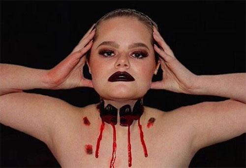 20-Very-Scary-Halloween-Neck-Makeup-Looks-Styles-Ideas-2019-17