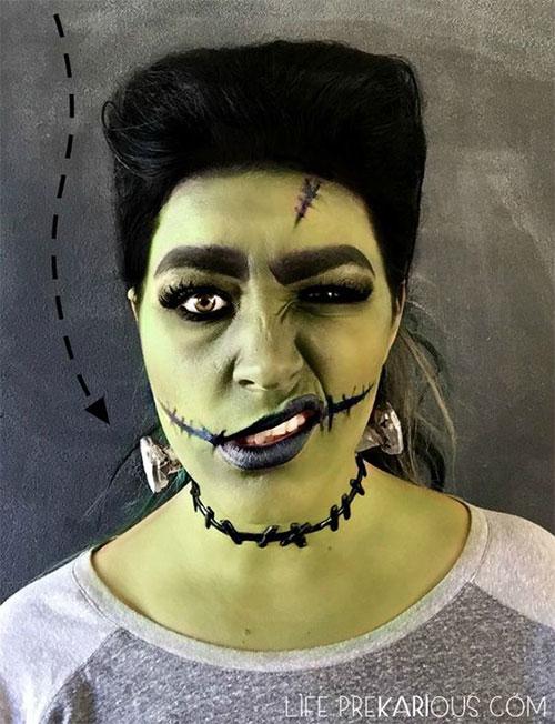 20-Very-Scary-Halloween-Neck-Makeup-Looks-Styles-Ideas-2019-2