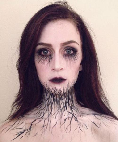 20-Very-Scary-Halloween-Neck-Makeup-Looks-Styles-Ideas-2019-5